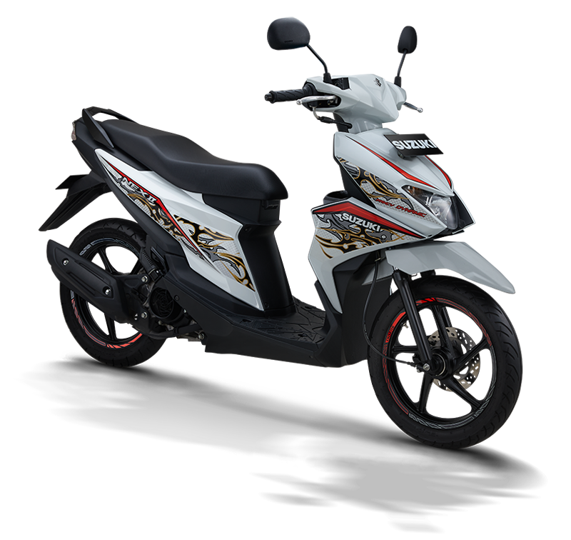 Suzuki Motor NEX II Fancy Dynamic White