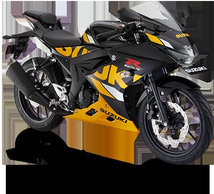 Suzuki Motor GSX-R150 Black Yellow