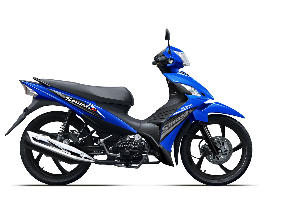 Suzuki Motor New Smash FI Medium Blue Casting Wheel