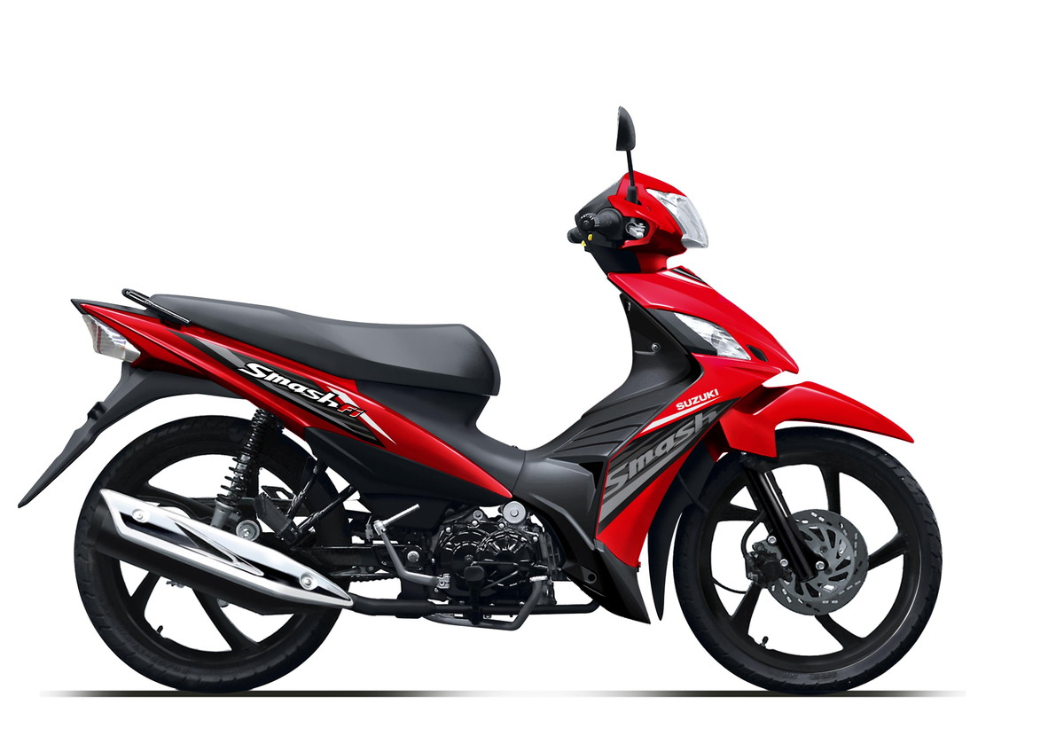 Suzuki Motor New Smash FI Summer Red Casting Wheel