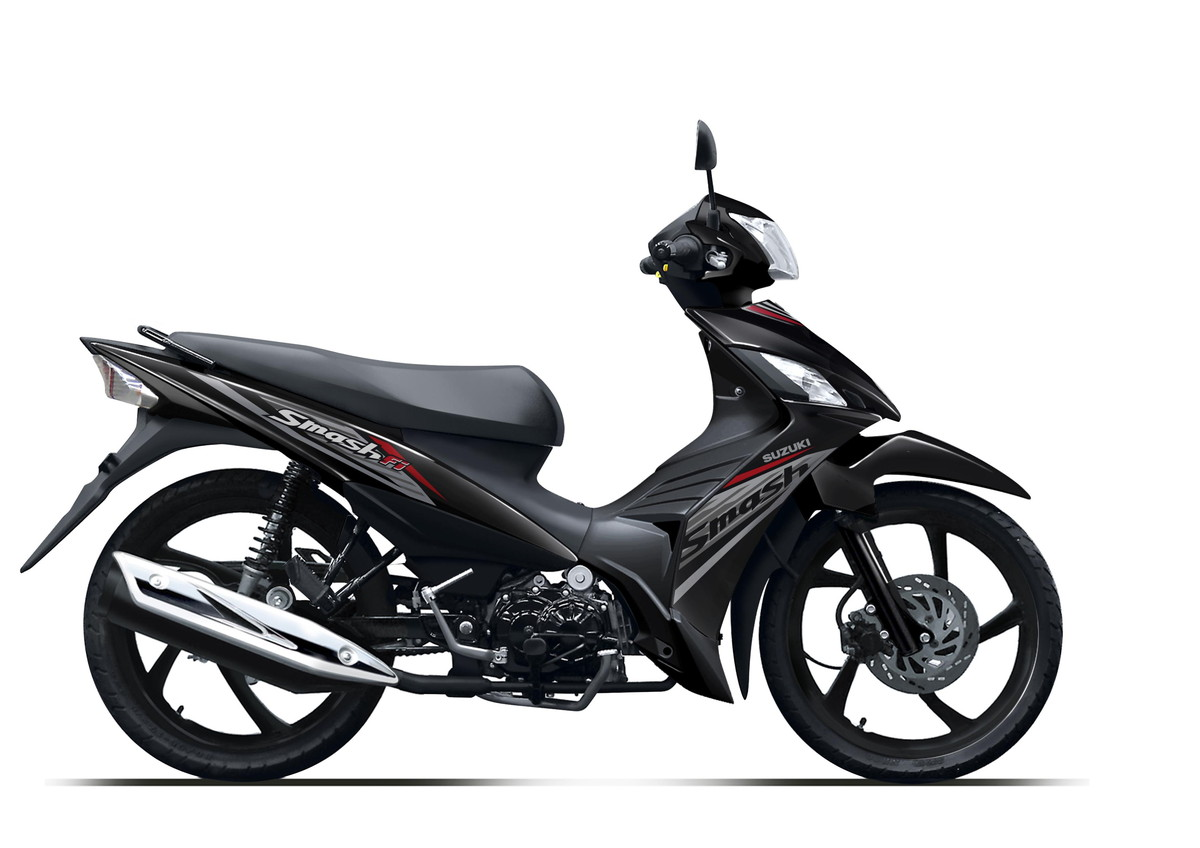 Suzuki Motor New Smash FI Black Spoke Wheel