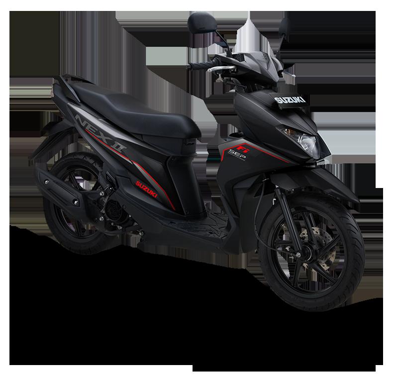 Suzuki Motor NEX II Fancy Dynamic Standard Titan Black