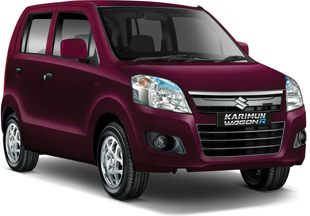 Suzuki Karimun Wagon R Burgundy Red