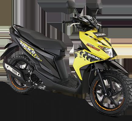 Suzuki Motor Nexcross Yellow