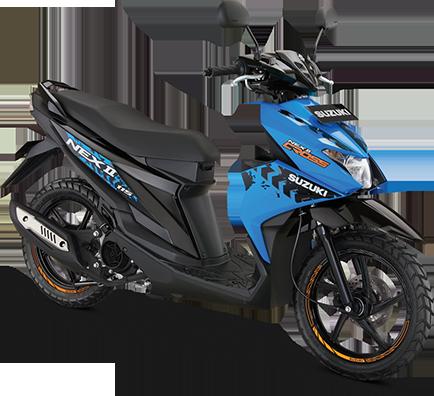 Suzuki Motor NEX II Cross Blue