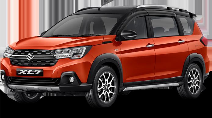 Suzuki XL7 Alpha Rising Orange + Black