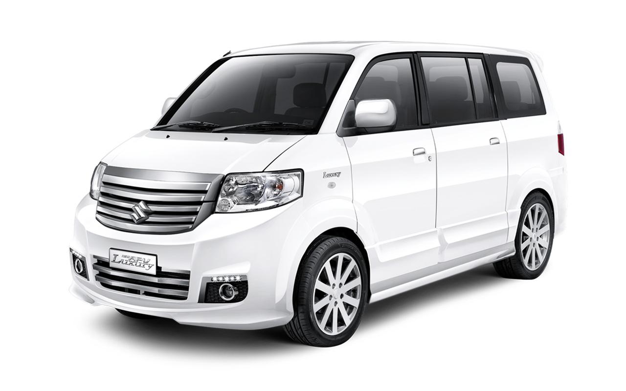 Suzuki APV New Luxury White