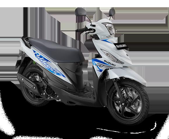 Suzuki Motor Address FI White