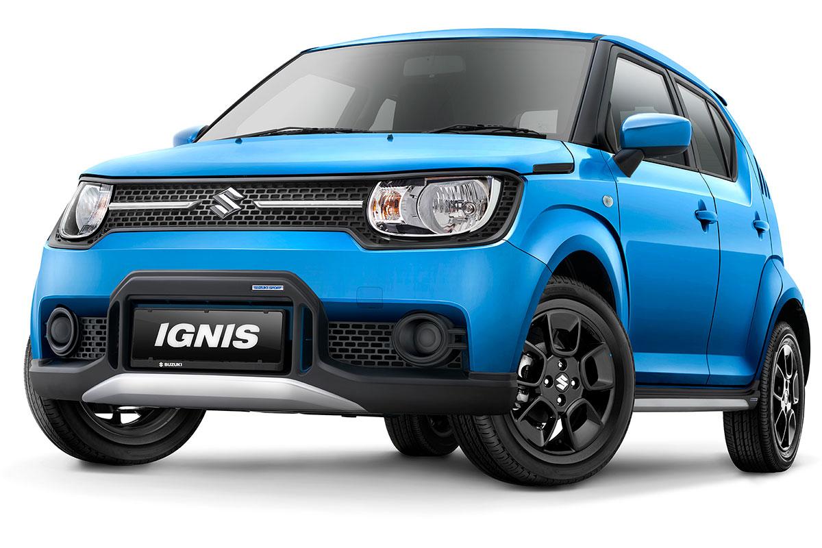 Suzuki Ignis Sport Blue