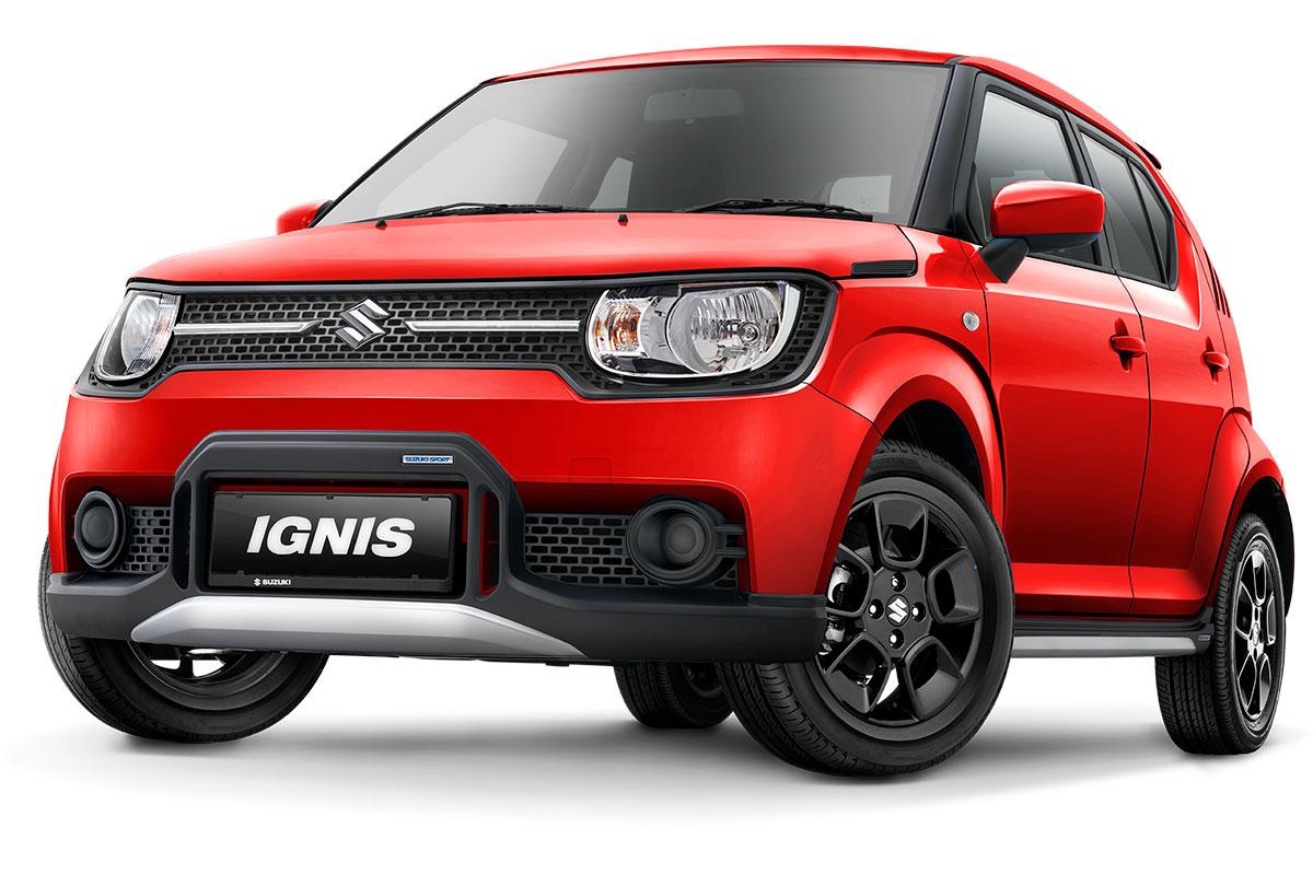 Suzuki Ignis Sport Red