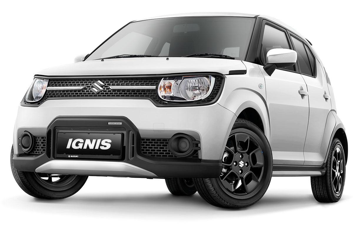 Suzuki Ignis Sport White