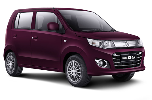 Suzuki Karimun Wagon GS Burgundy Red