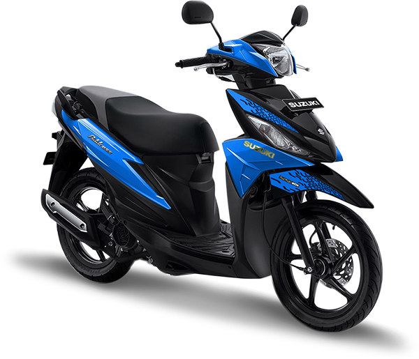 Suzuki Motor Address Playful Blue