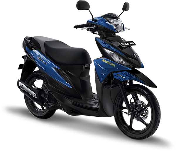 Suzuki Motor Address Playful Matte Blue