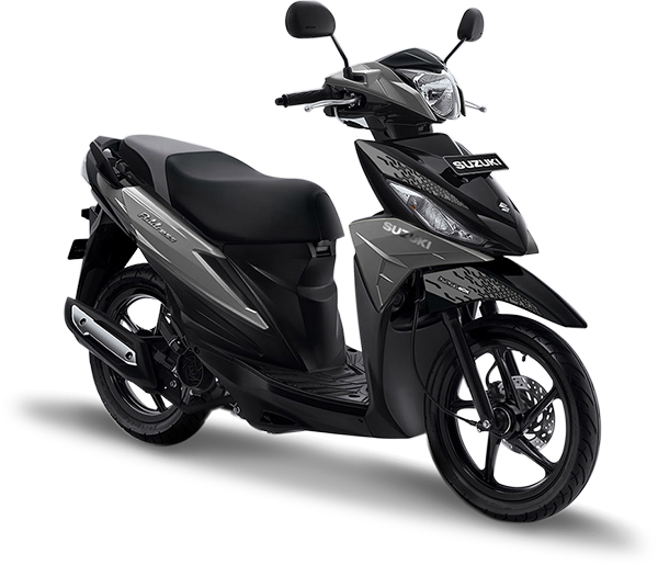 Suzuki Motor Address Playful Matte Gray