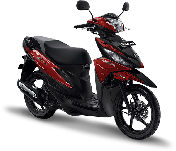 Suzuki Motor Address Playful Matte Red