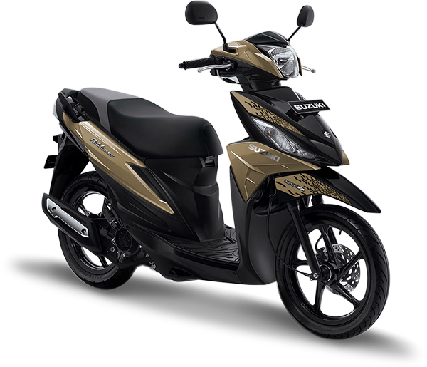 Suzuki Motor Address Playful Matte Titanium Silver