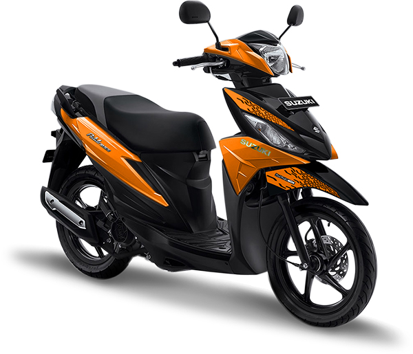 Suzuki Motor Address Playful Orange