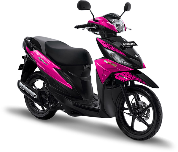Suzuki Motor Address Playful Pink