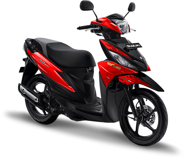 Suzuki Motor Address Playful Red