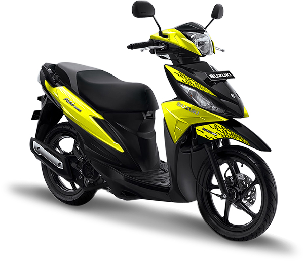 Suzuki Motor Address Playful Yellow
