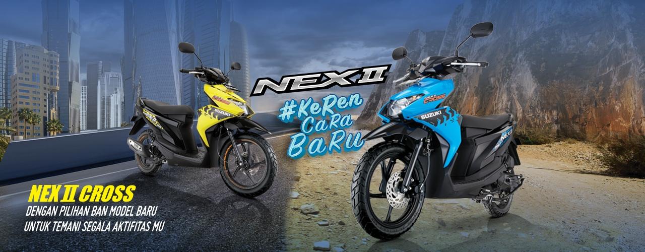 Suzuki Motor Nex II Cross Keren Cara Baru