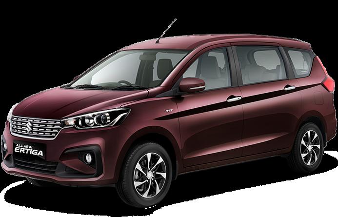 Suzuki All New Ertiga Pearl Burgundy Red