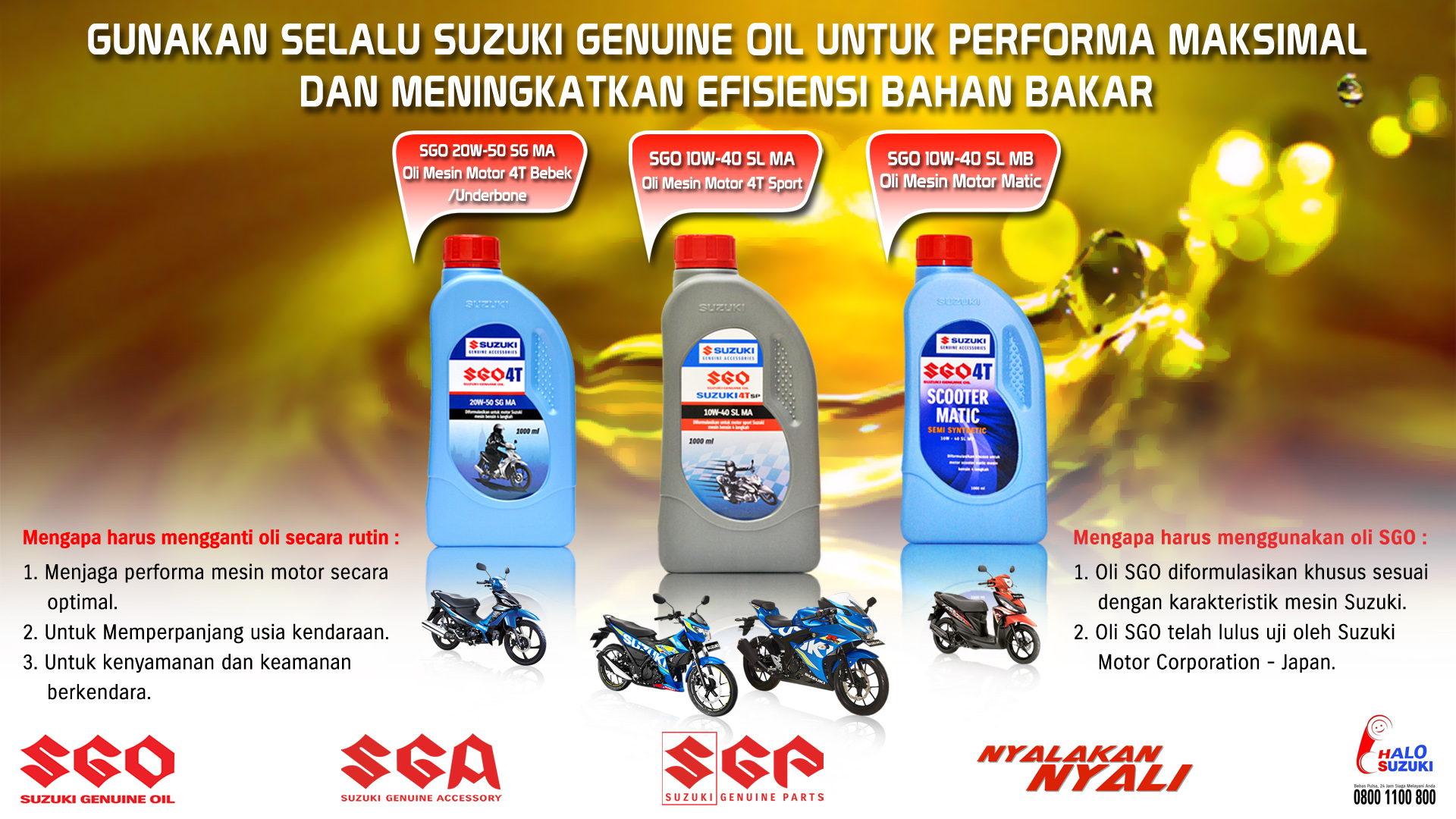 Suzuki Genuine Oil