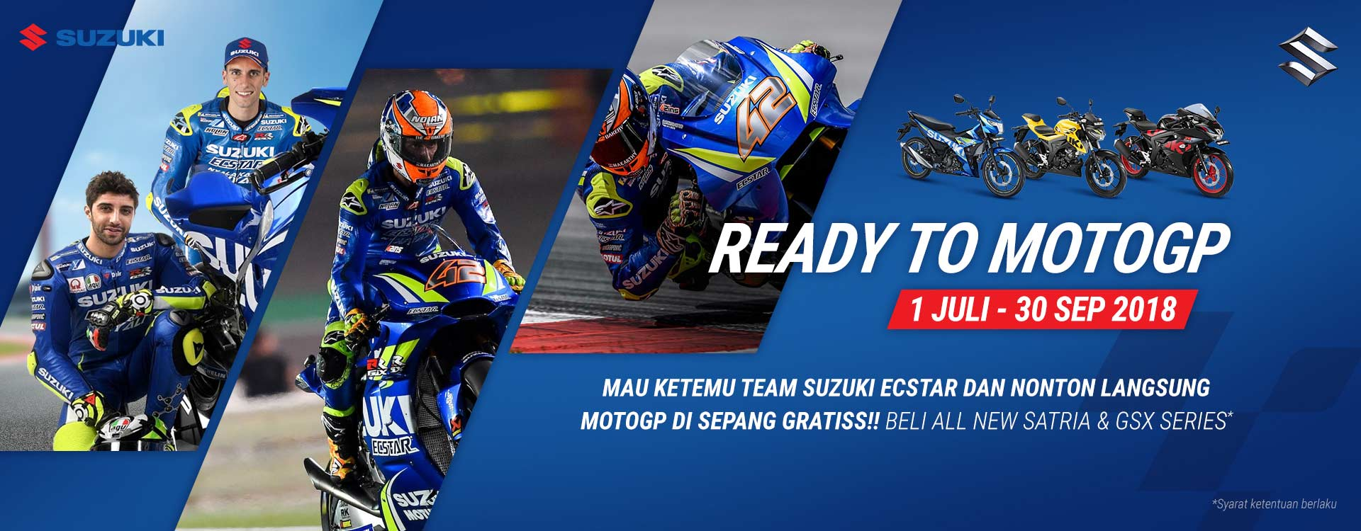 Ready to MotoGP