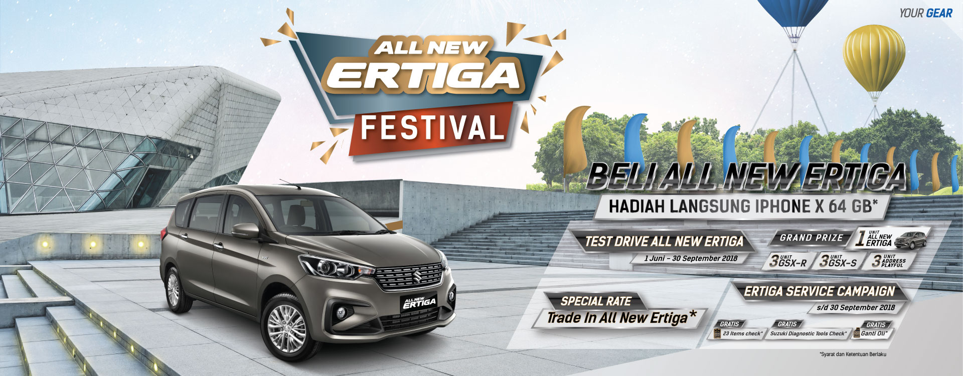 All New Ertiga Festival