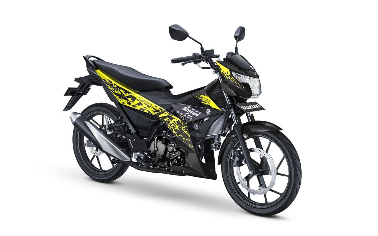 All New Satria F150 Pt Suzuki Indomobil Motor Knalpot F Ori Spesifikasi