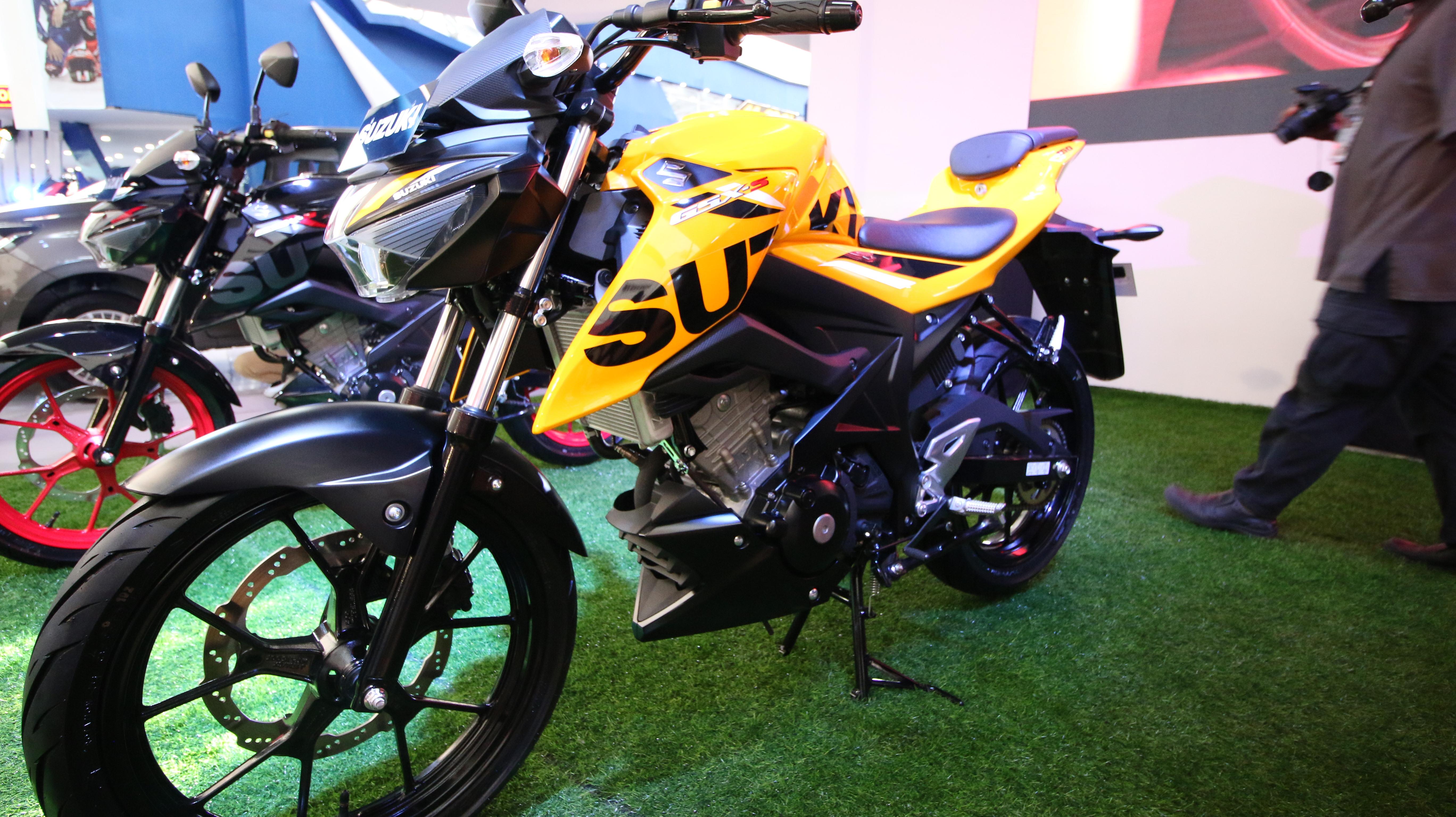 Suzuki Luncurkan Gsx S150 Dengan Pilihan Warna Baru Di Tahun 2018