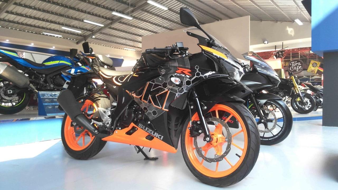 Motor Modifikasi Suzuki Di Jakarta Fair Kemayoran 2017 Pt Suzuki