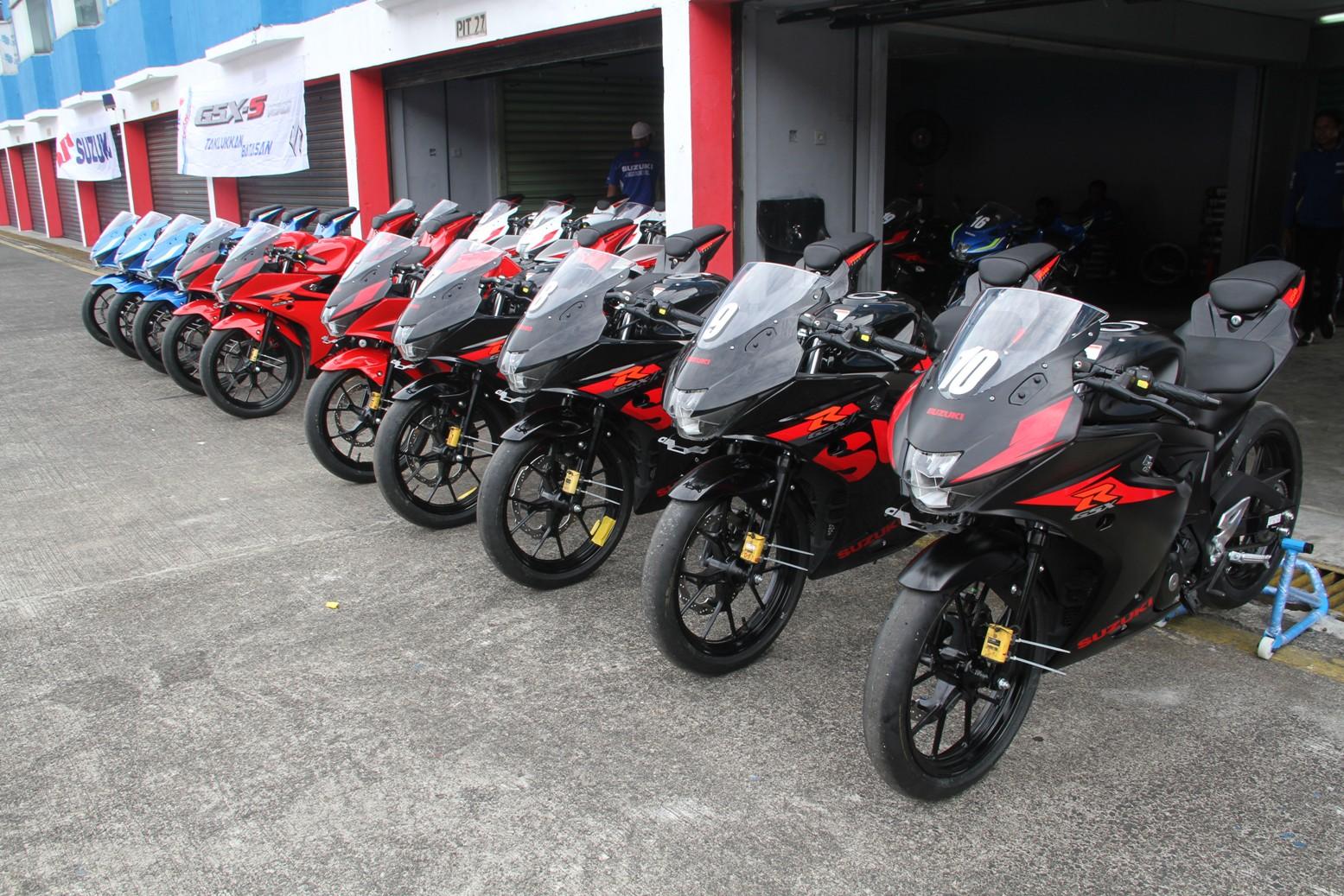 Momen Perdana Media Tanah Air Uji Performa Suzuki Gsx R150 Pt