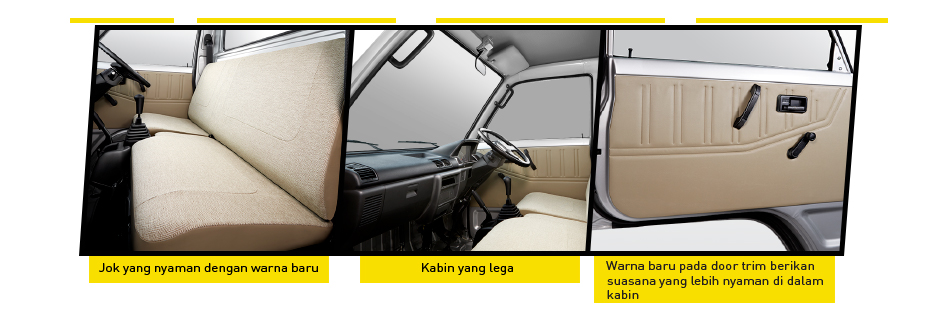 TAMPILAN JOK DAN DOORTRIM NEW CARRY PICKUP 2017